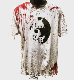 14400aecd9b Voorhees t shirts by Chad Cherry. Distressed, horror themed t shirts from  ChadCherryClothing.