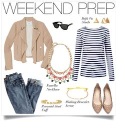Weekend chic #stelladotstyle love the stripes and sparkle!