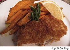 Healthy Gluten Free Fish & Chips Recipe