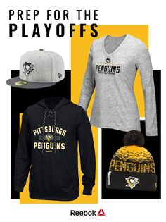 Gear up for the NHL Playoffs with some new PENGUINS gear! Select styles up to 50% OFF!