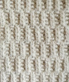 Rambler Stitch Pattern - The Purl Bee