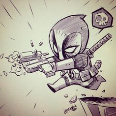 Cute Deadpool :3