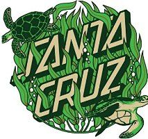 Another design by Santa Cruz, good use of colour and shape. Surf Stickers, Tumblr Stickers, Logo Stickers, Phone Stickers, Skateboard Logo, Skateboard Design, Santa Cruz Stickers, Santa Cruz Logo, Wallpaper Stickers