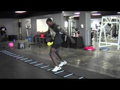 Agility Ladder Drills with Phil Davis, a must for all athletes. I remember doing this for tennis.