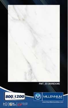 Millennium Tiles 800x1200mm (32x48) PGVT Porcelain Matt XXL Floor Tiles Series  - PMT_03