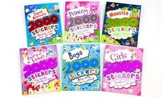 Groupon - $ 24.99 for a 2,000 Stickers 6-Book Bundle ($48 List Price). Free Shipping. in Online Deal. Groupon deal price: $24.99