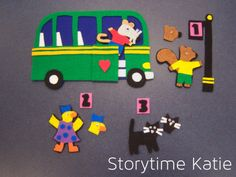 Flannel Friday: Maisy Drives the Bus | storytime katie