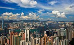 Victoria Peak - Hong Kong - by Maxim Solodov