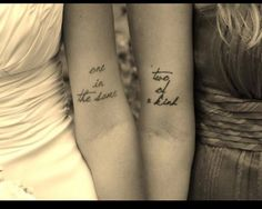 Best Friend Quotes Tattoos