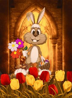 Easter Bunny easter easter eggs easter decorations easter bunny easter quote happy easter easter gifs easter greeting easter wishes happy easter friends and family animated easter