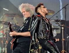Adam Lambert looks like a glamorous rock star even in casual clothing as he returns to the US after the European tour with Queen. Meanwhile, drummer Roger Taylor expressed his excitement over the band's return to Brazil.