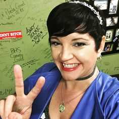 """Denise Vasquez on Instagram: """"Preshow #Greenroom #selfie @flapperscomedy #MainRoom"""""""
