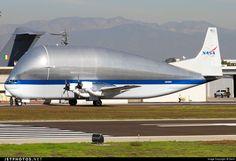 NASA Aero-Spacelines 377SGT Super Guppy N941NA 004 Long Beach Airport (Daugherty Field) - KLGB
