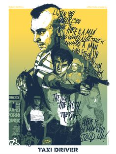 Carteles de cine ilustrados por Grzegorz Domaradzki