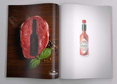 Tabasco: Steak
