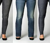 This is a great article for women with curves who want the right fitting jeans.