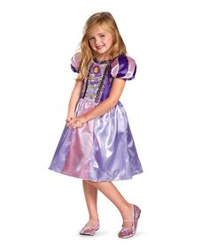 Take a look at this Rapunzel Sparkle Dress-Up Outfit - Toddler & Girls on zulily today!