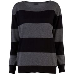 WREN sarah sweater (€200) ❤ liked on Polyvore featuring tops, sweaters, shirts, jumpers, crew neck top, shirt tops, long sleeve sweater, extra long sleeve shirts and long sleeve crew neck shirt