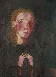 Self Portrait with Empty Hands Eerie, Painter, Portraiture, Drawings, Painting, Art, True Art, Portrait, Art Class
