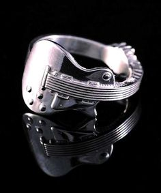 guitar ring music jewelry