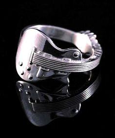guitar ring music jewelry