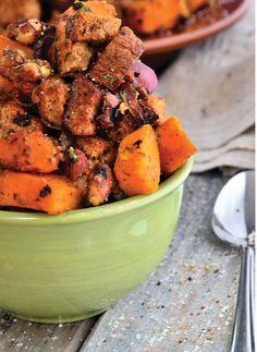 Cinnamon Raisin Sweet Potato Salad