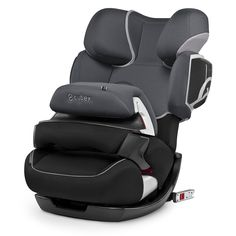 Cybex Pallas 2-fix. Two forward-facing car seats in one: group 1/2/3.  It grows with your child from around 9 months to around 12 years of age (9kg to 36kg). | £260.00 from official stockist, Mooster Baby | www.moosterbaby.co.uk