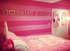 Victoria secret bedroom. I just died a little.