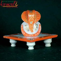 beautiful Marble Ganesh. Perfect for Indian wedding favor. Available in different colors.