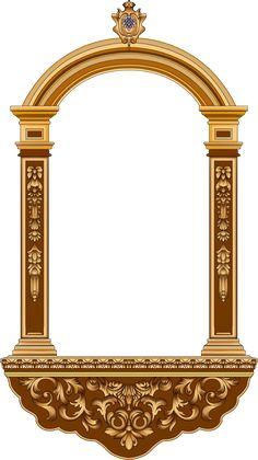 Baroque Decor, Baroque Design, Baroque Pattern, Geometric Background, Geometric Art, Baby Frocks Designs, Islamic Art Calligraphy, Design Seeds, Border Design