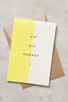 Hip Hip Hooray by Modern Lore