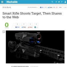 http://mashable.com/2013/05/16/trackingpoint-smart-rifle/ Smart Rifle Shoots Target, Then Shares to the Web | #Indiegogo #fundraising http://igg.me/at/tn5/