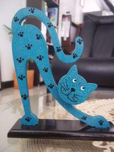 Madera - country Cat Crafts, Wood Crafts, Diy And Crafts, Arts And Crafts, Fall Halloween, Halloween Crafts, Emoji Images, Music Painting, Crayon Art