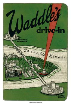 Waddle's Drive-In, Portland, Oregon, 1949