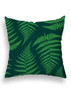 Fronds Midsummer Floor Pillow by Checkerboard Lifestyle at Gilt