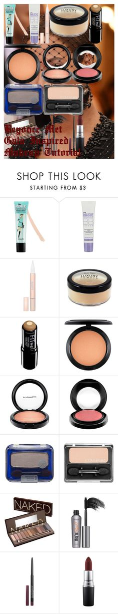 """""""Beyonce Met Gala Inspired Makeup Tutorial"""" by oroartye-1 on Polyvore featuring beauty, GALA, Benefit, L'Oréal Paris, Maybelline, MAC Cosmetics, COVERGIRL, Urban Decay and 330"""