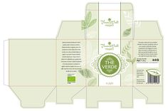 #tea #packaging - custom diecut #template, #Packly snap lock base box