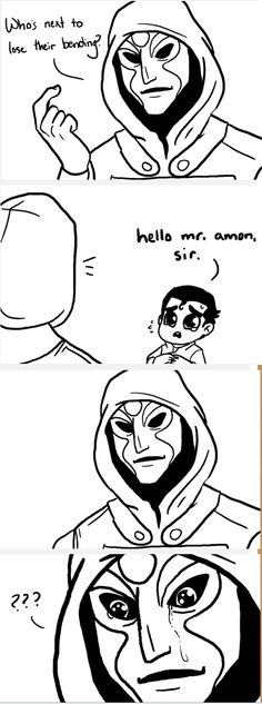 You can't take the cute, #Amon #Bolin
