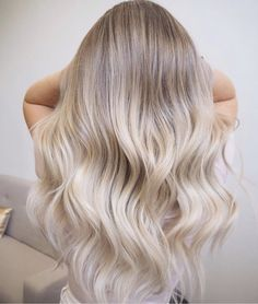 Soft baby blond hair balayage … – hair - All About Hairstyles Beige Blonde Hair Color, Baby Blonde Hair, White Blonde Hair, Cool Blonde Hair, Platinum Blonde Hair, Blonde Ombre, Beige Hair, Blonde Hair Colours 2018, Ombre Hair For Blondes