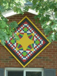 Barn Quilt, in Marshall County, Indiana