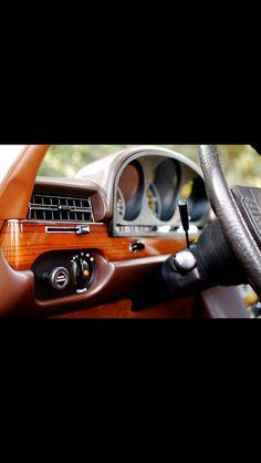 Mercedes Benz Vintage Interior