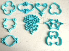 Vintage Wilton Cookie Cutters Cake Decorators by RichardandRuthie, $11.00