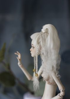Ball jointed doll, bjd, porcelain doll, art doll, by Nymphai dolls