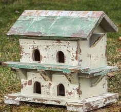 Superior Purple Martin House | Decorative Birdhouse | Shabby Chic Birdhouse