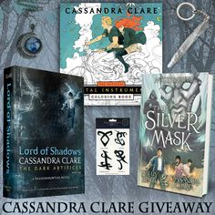 Cassandra Clare Books & Swag Giveaway