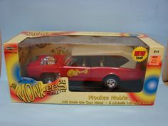 Ertl Collectibles 2002 The Monkees Mobile 1/18 Scale Die Cast Metal Car Replica American Muscle