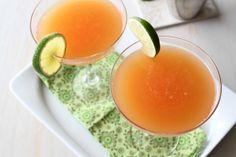 Rhubarb Margaritas... yes please! #recipe #cocktail