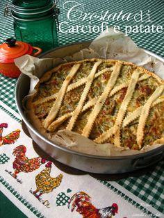 Crostata di carciofi e patate
