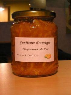 Journal des Femmes : Confiture d'oranges amères