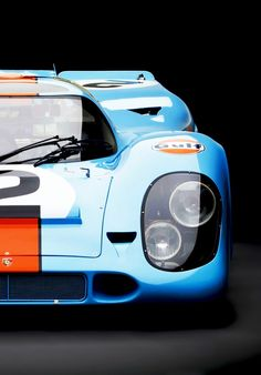 Porsche 917 in Gulf livery. Really, how can you lose?